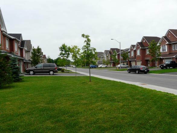 Улица в Отава, Канада