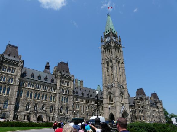 Канадският парламент - Отава, Канада